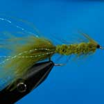 Tadpole Olive Lure L/S Trout Fishing Fly
