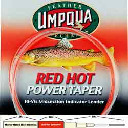 Umpqua Red Hot Power Taper