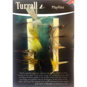May Fly Turrall Fly Selection - MAS