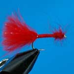 Bloodworm Marabou Nymph Trout Fishing Fly