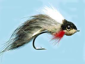 Turrall Pike Fly Widower Two Faced - Pi08