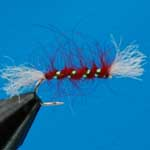 Shipman's Buzzer Red Nymph Trout Fishing Fly #12 (N225)