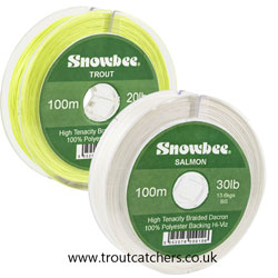 Snowbee Braided Dacron Backing Line - 20lb - 100m