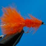 Tadpole Orange Mini Lure Trout Fishing Fly