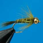 Damsel G.H.Nymph S/S Trout Fishing Fly