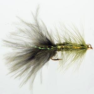 Turrall Damsel Nymphs Gold Head Bugger Olive - Gb028