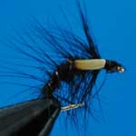 Snatcher Black Jc Wet Trout Fishing Fly #12 (W220)