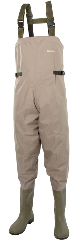 Snowbee Nylon Chest Waders - Cleated Sole 11251-01
