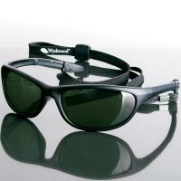 Wychwood Black Wrap Sunglasses
