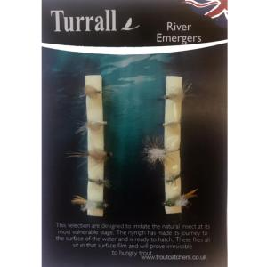 River Emergers Turrall Fly Selection - RES
