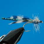 Blue Damsel Special Dry Trout Fishing Fly