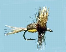Turrall Hair Bodied Dry Goofus Bug Yellow - Hb01