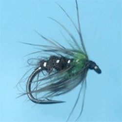 Turrall Rudd Bug Lime Fly - DG20