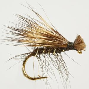Turrall Caddis /Sedge - Elk Hair Black - Ca07