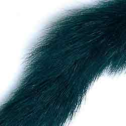 Fox Squirrel Tail Dyed Black