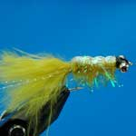 Gladiator Yellow Bc Lure L/S Trout Fishing Fly #10 (L331)