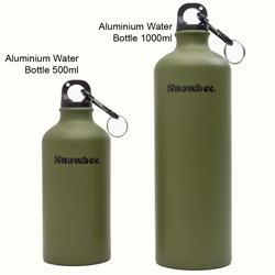 Snowbee Aluminium Water Bottle - 1000ml - 19409