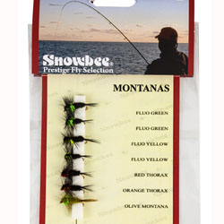 Snowbee Montana (Weighted) Fly Selection - SF107
