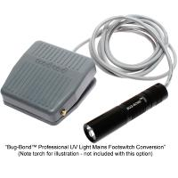 Bug-Bond™ Professional UV Light Mains Footswitch Conversion