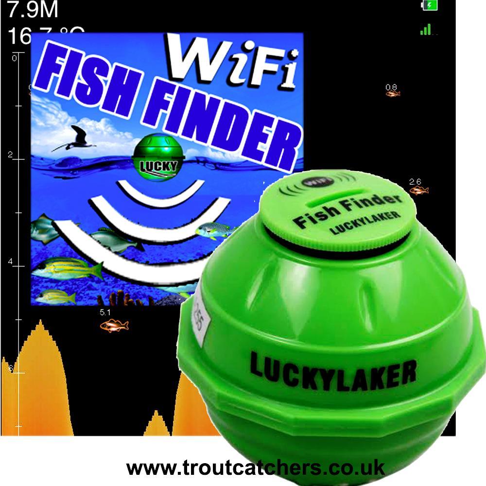 Nunudes Co Uk Fi: Lucky Laker Wi-Fi Fish Finder