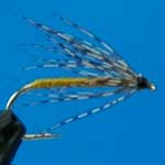Partridge And Yellow Wet Trout Fishing Fly #12 (W193)