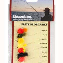 Snowbee Fritz Blob Lure Fly Selection - SF114
