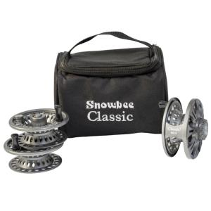 Snowbee Classic2 Fly Reel #5/6 Kit - Reel + 2 Spare Spools & Case - 10561