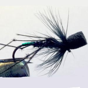 Gary Pearson Flies - Turrall - Maraflash Hopper Green - GP10 - Size 10