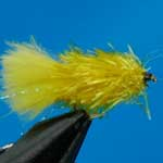 Yellow Blob Trout Fishing Fly
