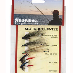 Snowbee Sea Trout Hunter Fly Selection - SF300