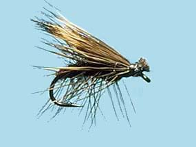 Turrall Caddis /Sedge - Elk Hair Brown - Ca08