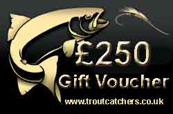 Fishing £250 Gift Voucher - Troutcatchers