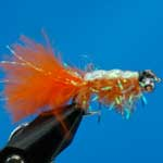 Gladiator Orange Bc Lure L/S Trout Fishing Fly #10 (L330)