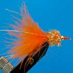 Nomad Fritz Orange Fritz Gh L/S Trout Fishing Fly #10 (Fr9)