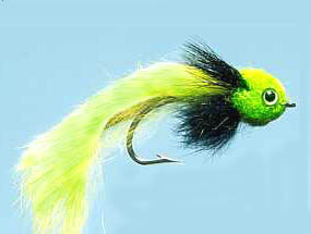 Turrall Pike Fly Widower Chartreuse - Pi05