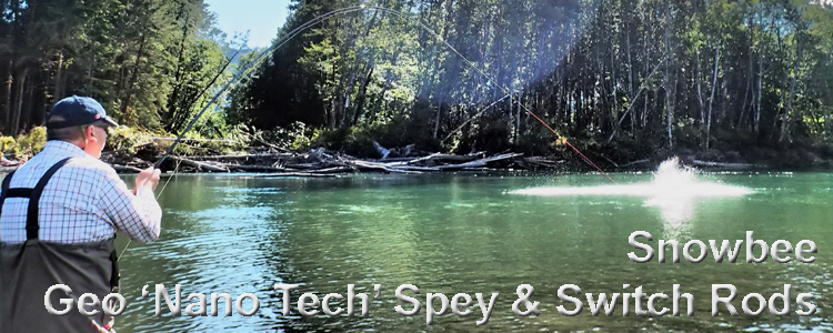 Snowbee Geo Nano Technology Salmon Spey Switch Rods