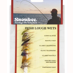 Snowbee Irish Lough Wet Fly Selection - SF110