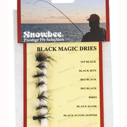 Snowbee Black Magic Dry Fly Selection - SF118