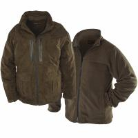 Snowbee All Season ¾ Length Fishing Jacket & Zip-out Fleece