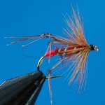 Hoppers Red Special Dry Trout Fishing Fly