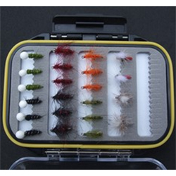 Turrall Fly Pod Stillwater Emerger Selection - FPOD28
