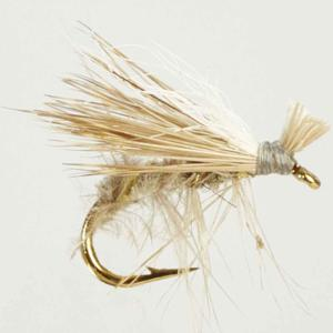 Turrall Caddis /Sedge - Elk Hair Hi-Vis Grey - Ca14