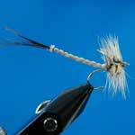 Mayfly Detached Body Special Dry Trout Fishing Fly #10 (D552)