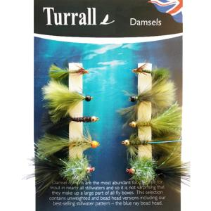 Damsels Turrall Fly Selection - DAS