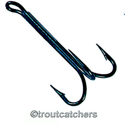 Kamasan B380 Salmon Trebles - 1000 Pack - Fly Hooks