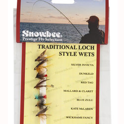 Snowbee Traditional Loch Style Wet Fly Selection - SF111