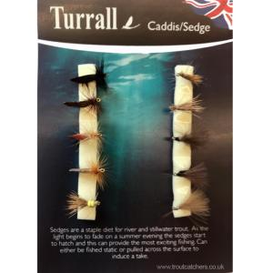 Caddis Sedge Turrall Fly Selection - CAS